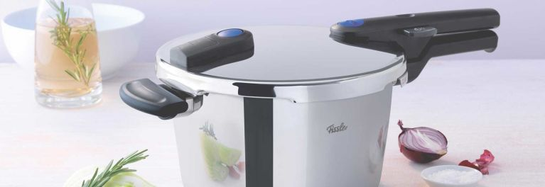 The Fissler pressure cooker.