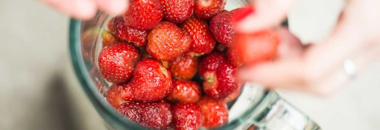 Strawberries are great in summer recipes.