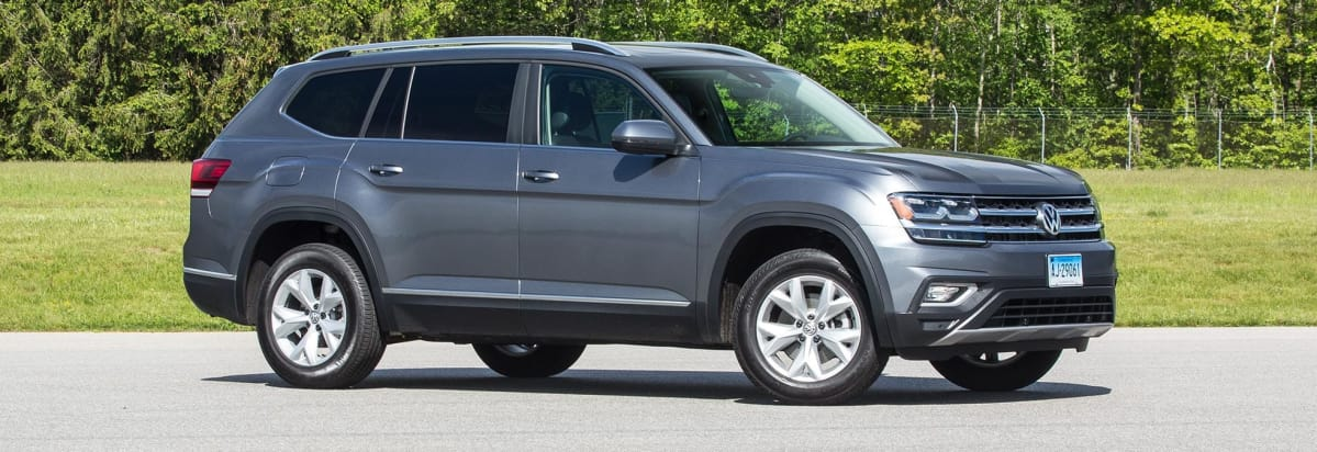 Front Of 2018 Volkswagen Atlas Three Row Suv