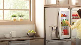 Ge Cafe Refrigerator Has A Keurig Coffeemaker Consumer