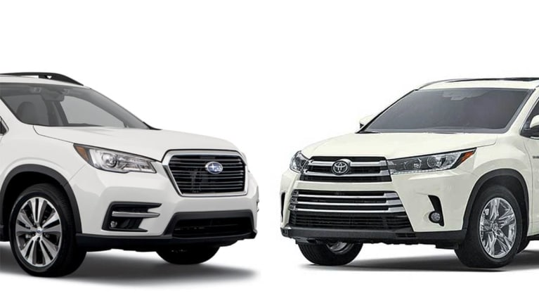 Head-to-Head: Subaru Ascent vs. Toyota Highlander