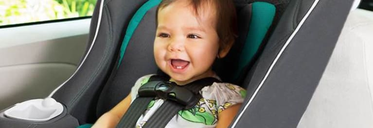 Baby in recalled Graco car seat