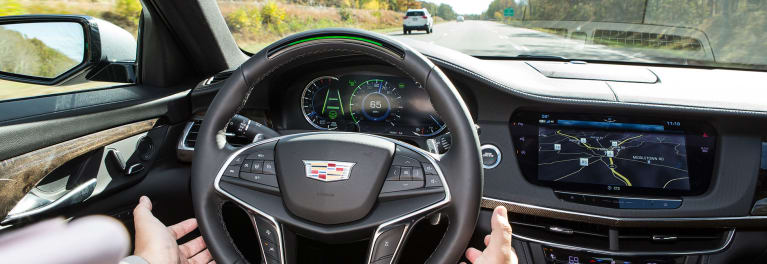 2018 Cadillac CT6 with Super Cruise