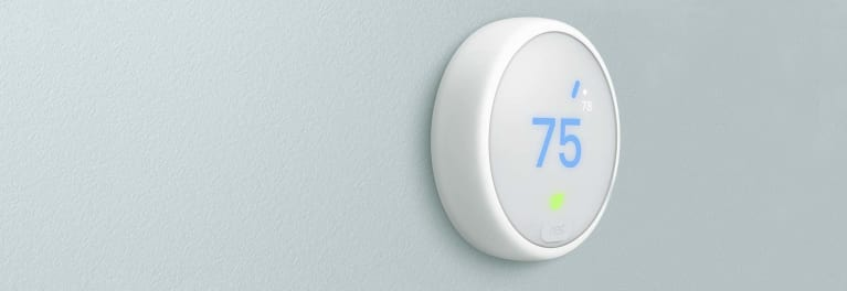 The new Nest Thermostat E
