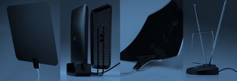 TV antennas.