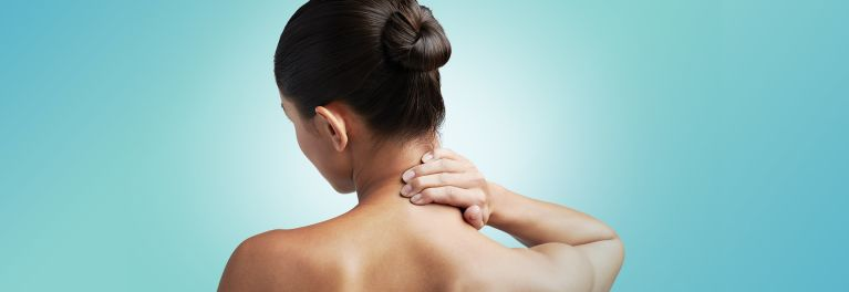 Neck and back pain can make it difficult to sleep.