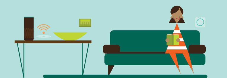 Add tech upgrades like wireless speakers to your home.