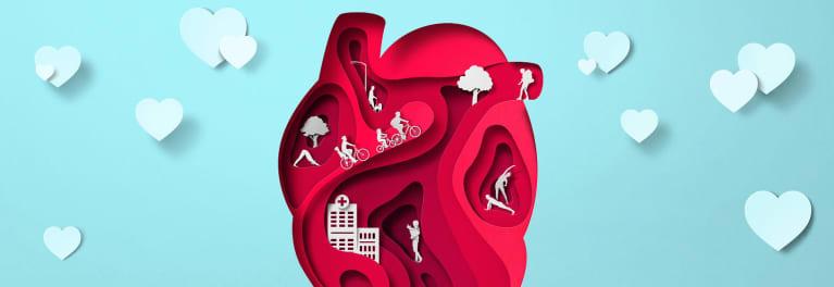Heart graphic.