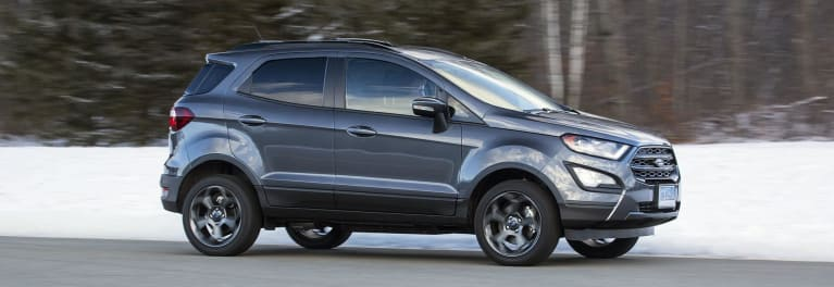 2018 Ford Ecosport Suv Is A Pint Sized Delight Consumer Reports
