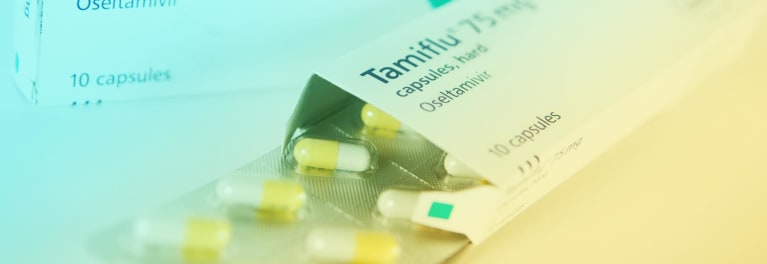 Tamiflu is an antiviral drug for the flu.