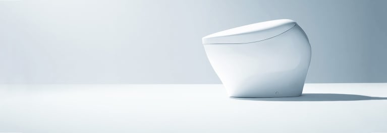 Toilet trends include sleek new models.