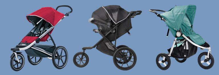 3 strollers for active parents