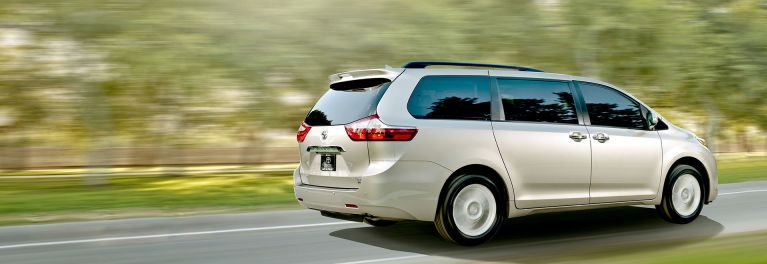 Toyota's Sienna minivan is among the vehicles found to last 200,000 miles or more.