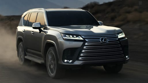 Preview: All-New 2022 Lexus LX