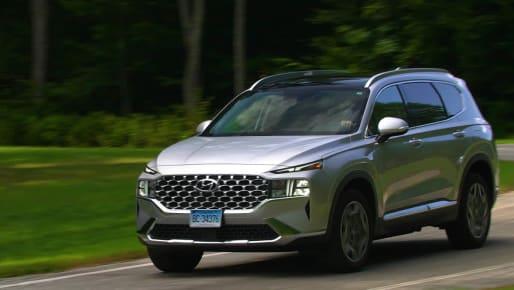 Talking Cars 326: Driving the 2021 Hyundai Santa Fe Hybrid