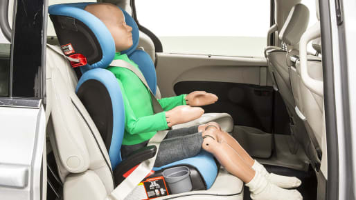 The Benefits of Keeping the Back on Your Booster Seat