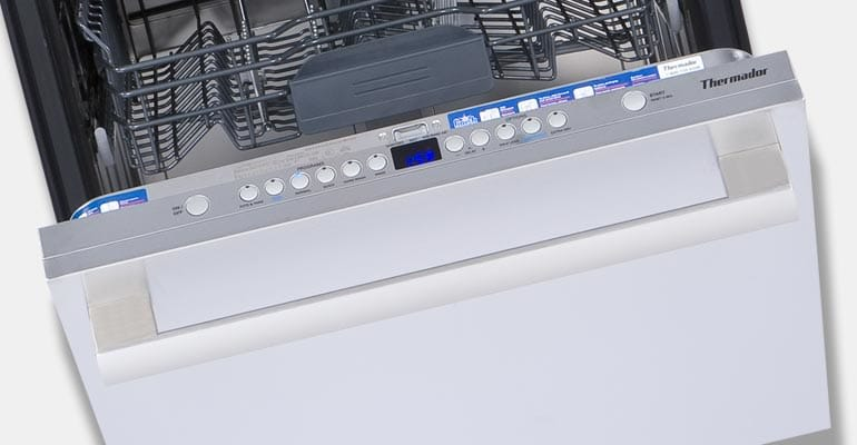 A dishwasher from 2017 product recalls.
