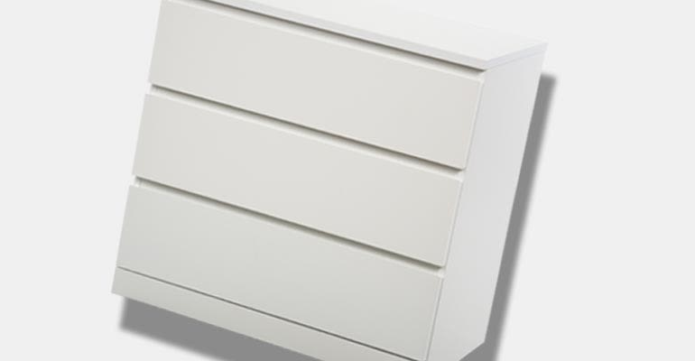 A dresser from 2017 product recalls.