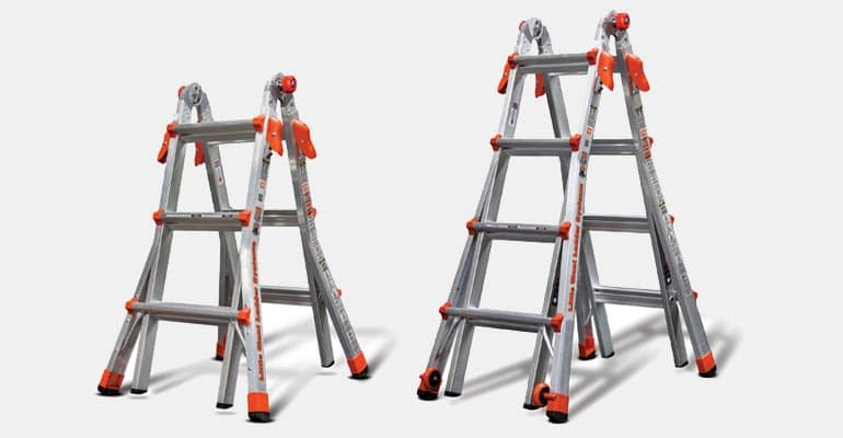 Ladders from 2017 product recalls.