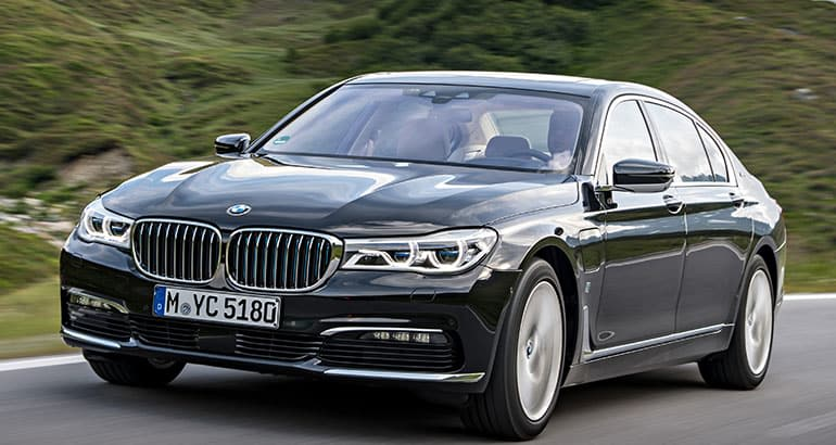 Best-riding car BMW 7 Series.