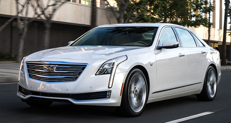 Best-riding car Cadillac CT6.