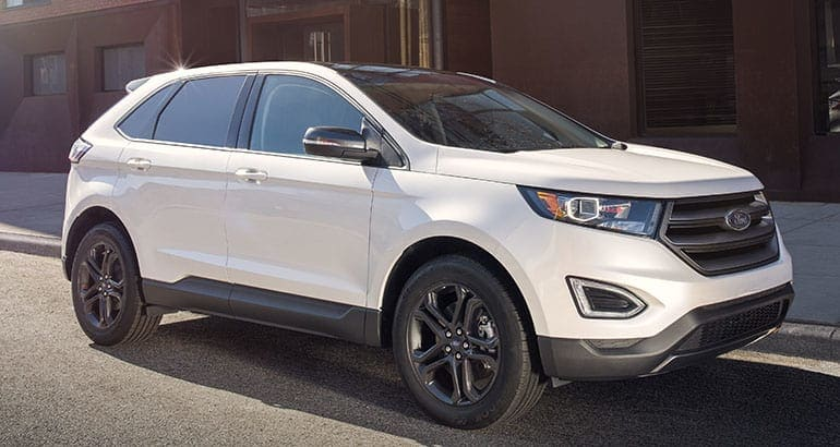 The Ford Edge is one of the best-riding SUVs.