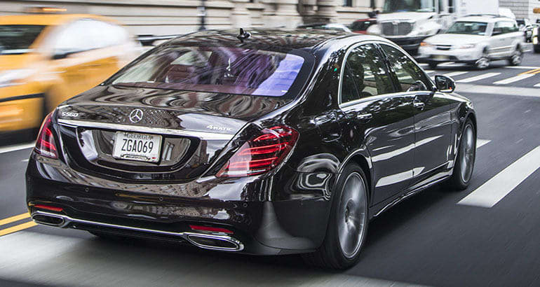 Best-riding car Mercedes-Benz S-Class.