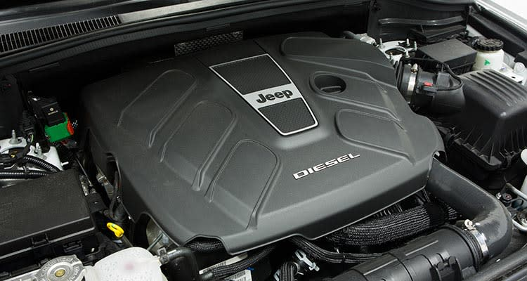 2014 Jeep Grand Cherokee diesel engine