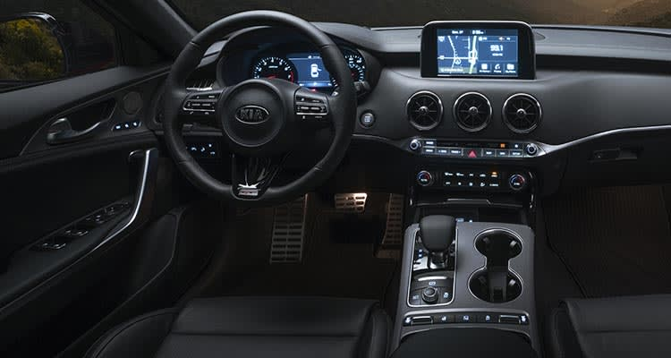 2018 Kia Stinger Sport Sedan interior