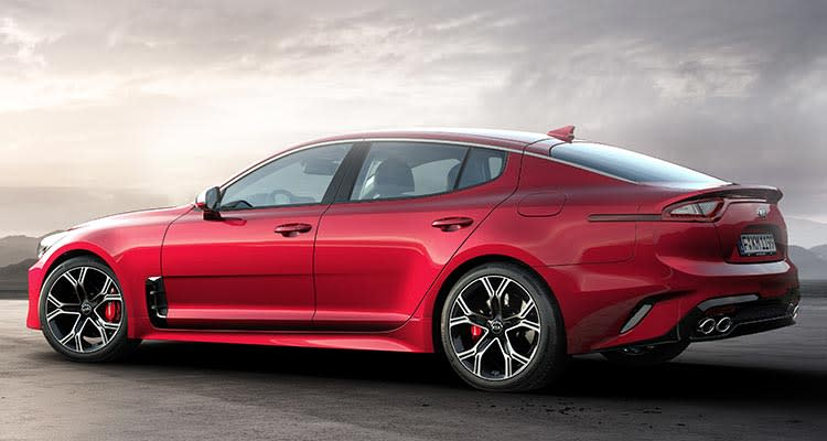 2018 Kia Stinger Sport Sedan rear