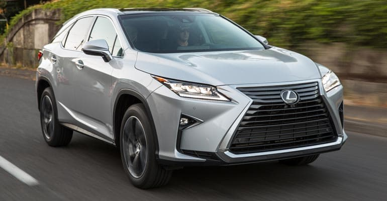 Top Pick: Lexus RX 350