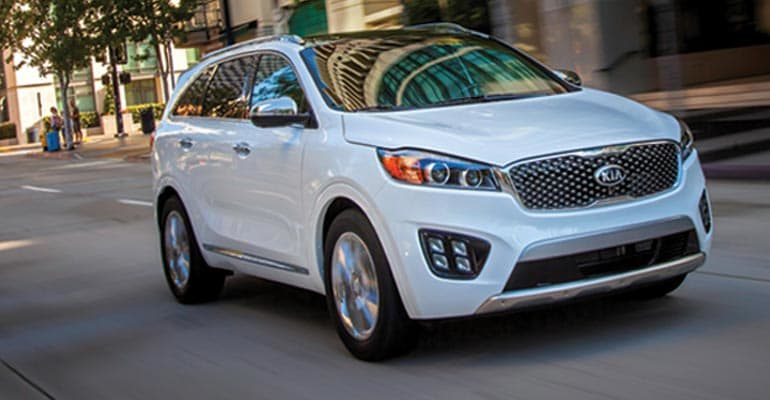 Top Pick: Kia Sorento