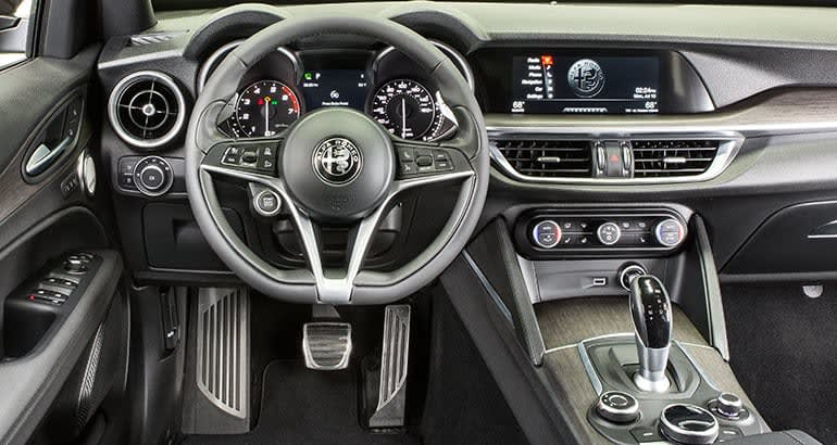 2018 Alfa Romeo Stelvio Is Agile But