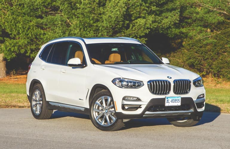 2018 BMW X3 luxury compact SUV.