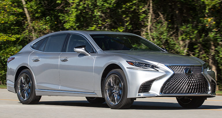 2018 Lexus LS 500 Reborn With More Tech and Flash - Consumer Reports