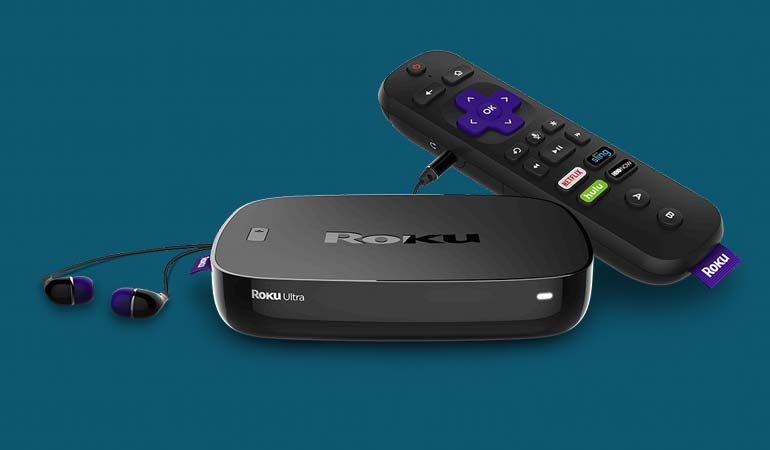 Photo of the new Roku Ultra 4K HDR player.