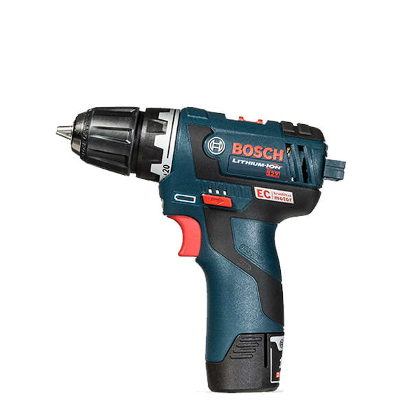 A general-use cordless drill.