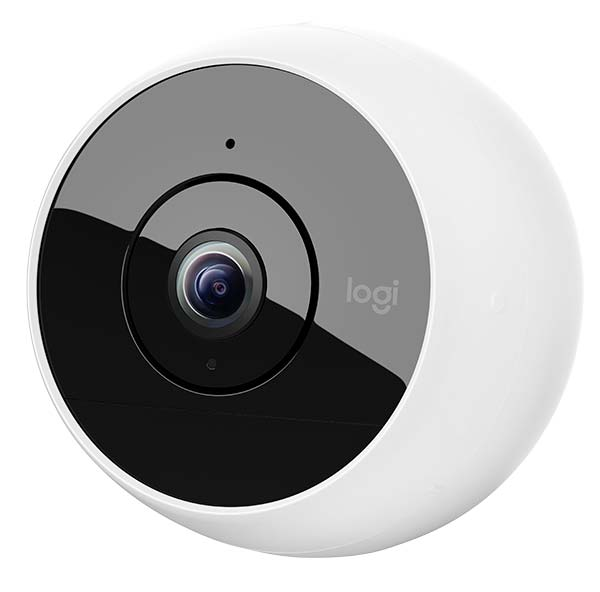 A wireless security camera.