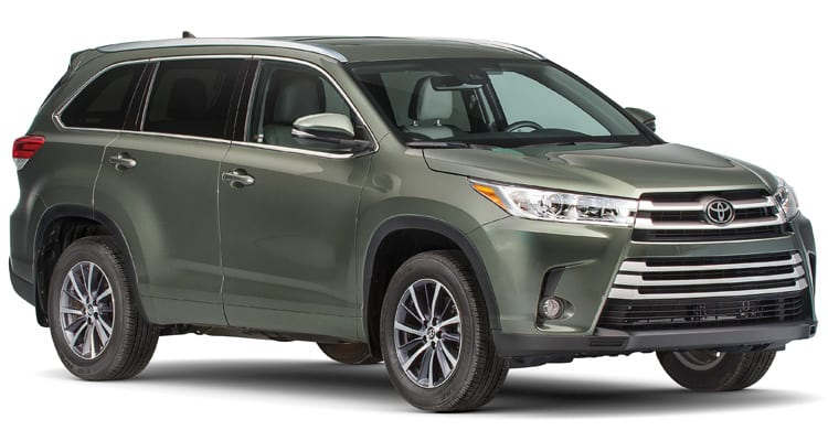 Midsized SUV Top Pick Toyota Highlander