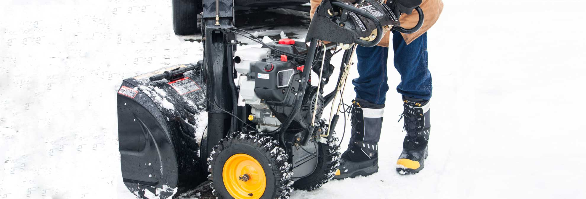 Snow Blower Storage Tip: Should You Drain the Gas?