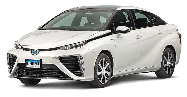 Toyota Mirai Review: Hydrogen-Powered Hipness - Consumer Reports