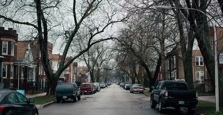 People in East Garfield Park on Chicago's west side often pay more for car insurance than people in neighborhoods that pose a bigger auto-insurance risk.