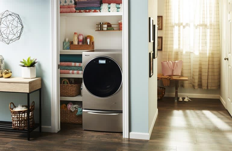 Whirlpool's washer innovations.