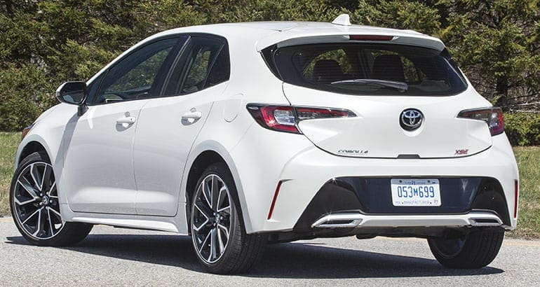 2019 Toyota Corolla Hatchback Delivers Driving Fun