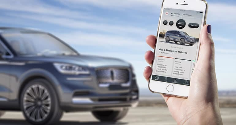 Lincoln's new smartphone as key app debuts on the upcoming Aviator