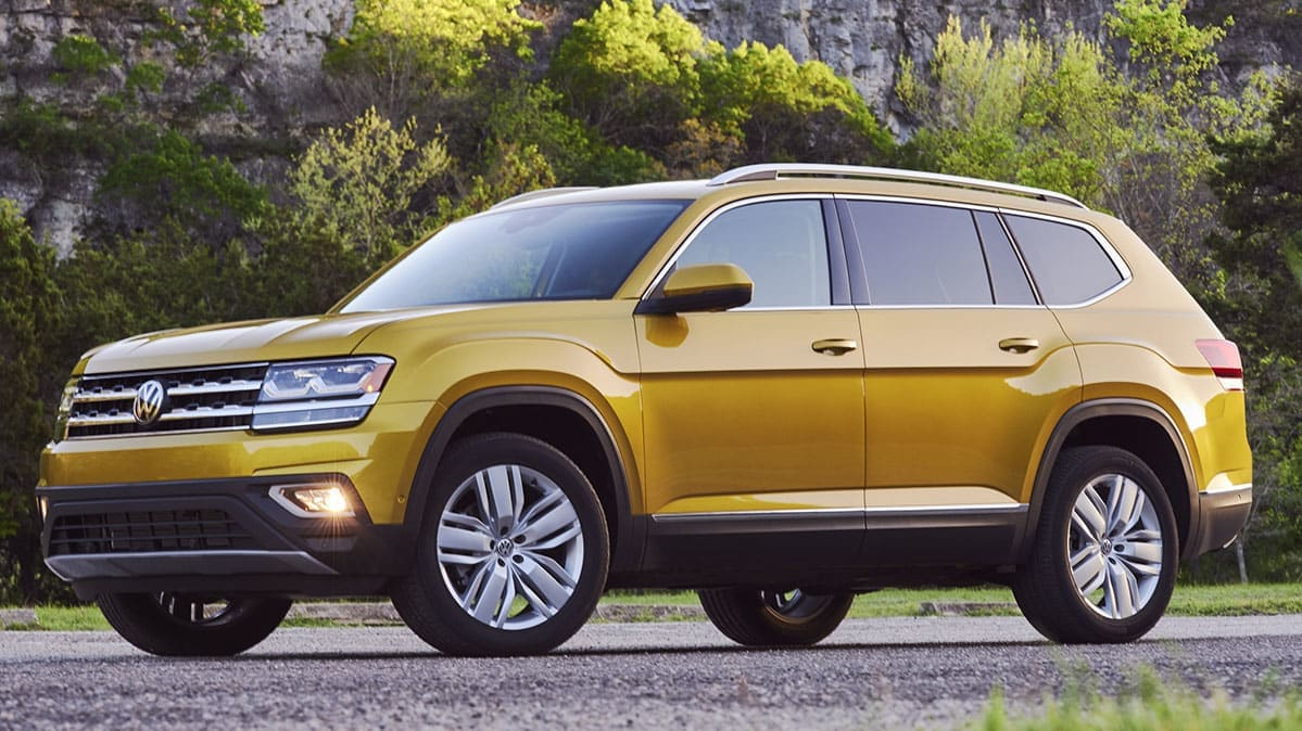 Volkswagen and Audi recall for brake issues includes the 2018 Volkswagen Atlas.