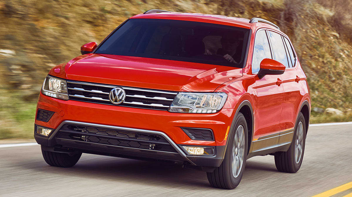 2018 Volkswagen Tiguan recalled over fire risk