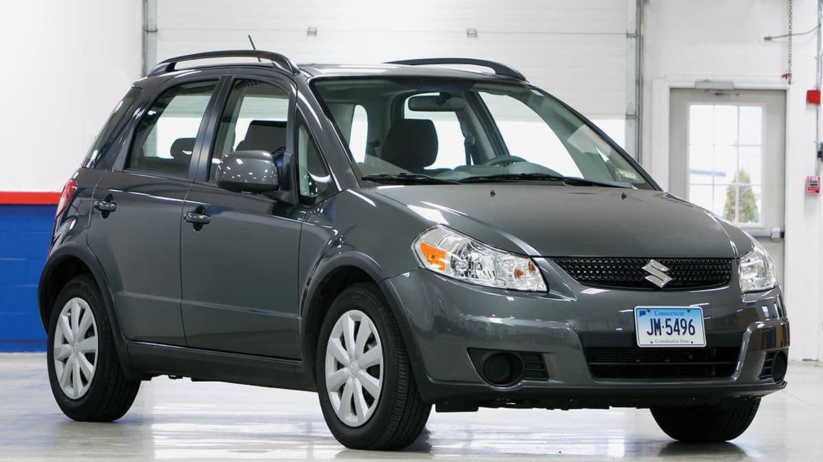 Suzuki SX4s Are Recalled for a Steering Problem - Consumer