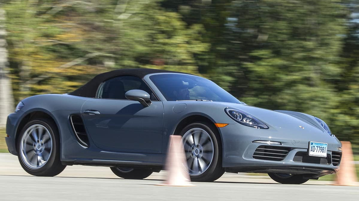 Porsche 718 Boxster has among the best car safety performance