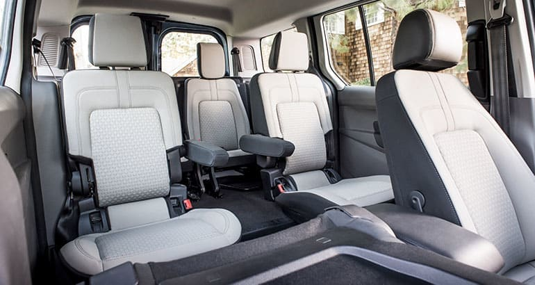 2019 Ford Transit Connect Wagon back seats